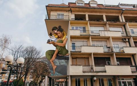 Mural -pobednik Artez