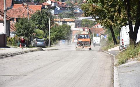 Radovi u Užičkoj ulici, foto: Grad Valjevo